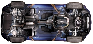 Under car components include a lot of the systems that you rely on to operate your car safely!